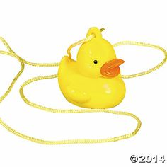 $4.25 for 12 Rubber Ducky Necklaces