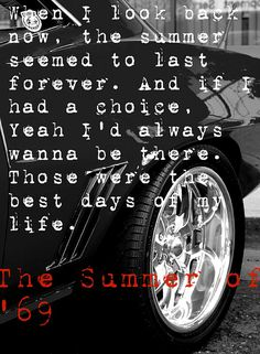 Summer Of '69 - Bryan Adams