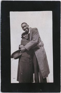Langston Hughes and Dorothy West