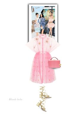 """""""Grateful brings us a different view of the world .. please read"""" by blonde-bedu ❤ liked on Polyvore featuring Delpozo and Mark Cross"""