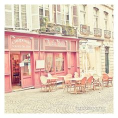 La Crêperie ❤ liked on Polyvore featuring backgrounds, pictures, pink, photos, places and filler