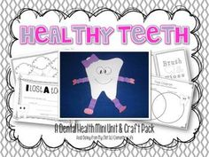 A Dental Health Unit & WorkBook. Children's Dentistry at Hausman Village, pediatric dentist in San Antonio, TX @ www.txkidds.com