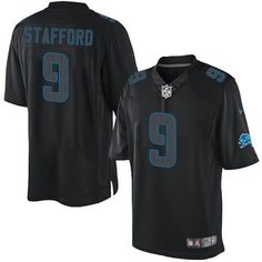 Nike Lions  9 Matthew Stafford Black Men s Stitched NFL Impact Limited Jersey  Robert Griffin Iii 5007f8752