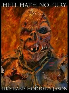 Jason Friday, Friday The 13th, Horror Movie Characters, Horror Movies, Horror Film, Horror Icons, Horror Art, Kane Hodder, Jason Voorhees