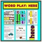 Inside this title you will find six exciting reproducible activities for the study of this sight word (and all for just a buck! Sight Word Activities, Word Play, Sight Words, Cool Words, Kindergarten, Lettering, Reading, Fun, Students