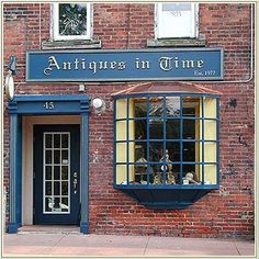 Antique Store... antiques in time... we all are, aren't we?