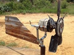 Wind Generator From Truck Alternator