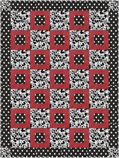 Pretty Please Downloadable Quilt Pattern Easy 3 Yard by FabricCafe