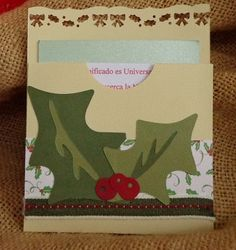 invitación o postal de navidad