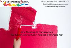 Find the best painters in Bergen, Rockland County, Paramus NJ, and Spring Valley NY which is provided by Eds Painting & Const. in Bergen county painters. House Painting Services, Rockland County, House Painter, Painting Contractors, Bergen County, Cool Paintings, Exterior Paint, Construction, Building