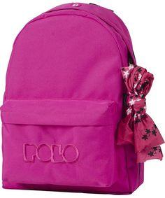 ΣΑΚΙΔΙΟ ORIGINAL POLO BAG (ΦΟΥΞΙΑ) 1+1 ΘΕΣΕΙΣ School Bags, Fashion Backpack, Polo, Backpacks, School Backpacks, Polos, Backpack, Polo Shirt, Tee Shirt