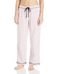 Karen Neuburger Women s Long Take Note Stripe Pajama Pant 924d48bf2