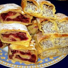 Hungarian Desserts, Hungarian Recipes, Hungarian Food, Strudel, Winter Food, Nutella, French Toast, Sweet Tooth, Fudge