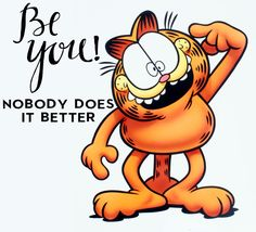 Garfield's well-known attitude is featured in this collection of airbrushed artwork from the and Garfield Pictures, Garfield Quotes, Garfield Cartoon, Garfield And Odie, Garfield Comics, Cartoon Jokes, Cartoon Characters, Cartoons, Garfield Birthday