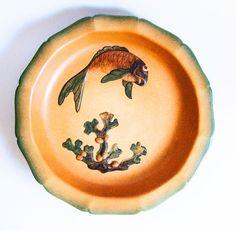 P. Ipsens Enke Danish Art Pottery Wide Bowl by PepperTreeVintage