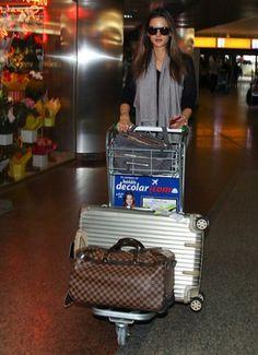 Alessandra Ambrosio Sao Paulo airport in Brazil November 17 2012