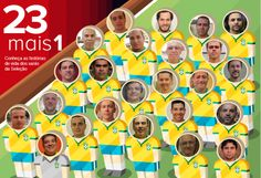 23 + 1 Brazilians