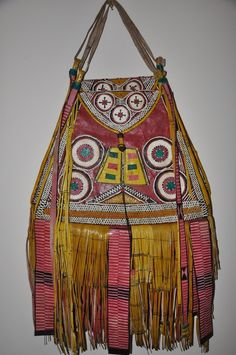 Leather Tuareg Bag- I have one so like this -Yay!