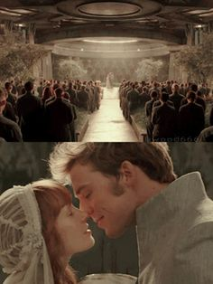 """Sam Claflin & Stef Dawson - """"The Hunger Games : Mockingjay Part The Hunger Games, Hunger Games Movies, Hunger Games Fandom, Hunger Games Catching Fire, Hunger Games Trilogy, Finnick And Annie, Katniss And Peeta, Katniss Everdeen, Suzanne Collins"""