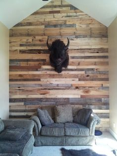 Pallet wall!- Maybe under the bar??