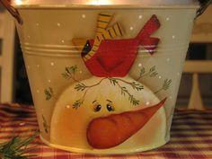 Cute snowman - Plum Purdy/Renee Mullins