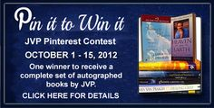 Win a Full set of autographed James Van Praagh books! Just repin the full image from the Pin it to Win it Board and then tag me @vanpraagh and hashtag your description #JVP so we can find it - and REPIN it! That's it! Runs October 1 - 15, 2012 - Hurry!