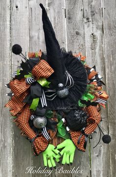 Wicked Witch by Holiday Baubles
