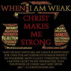 When I Am Weak, Then I Am Strong – KJB Daily Bible Study