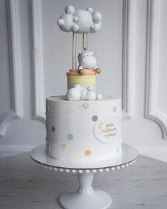 kuchen ideen Okay, if you stumbled upon on this article I am sure you need a baby shower idea, so start looking at these wonderful baby shower cake designs for Baby Boy Birthday Cake, Novelty Birthday Cakes, Baby Boy Cakes, First Birthday Cakes, Cakes For Boys, Girl Cakes, Cake For Baby, Amazing Baby Shower Cakes, Torta Baby Shower