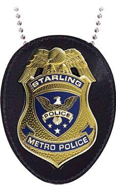 Starling City Police Badge Replica - Main Image