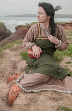viking clothing.  clothes by Prior Attire, photography Pitcheresqe imagery