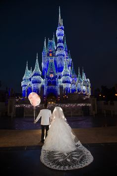 Ready for their happily ever after at Cinderella Castle. Photo: Stephanie, Disney Fine Art Photography