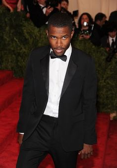 Frank Ocean always knows how to dress to impress.