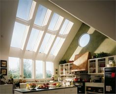Loft Conversion - 400 Series Roof Window from Andersen Style At Home, Loft Conversion Design, Attic Loft, Roof Window, Unique Doors, Home Office Decor, Home Decor, Bed Sheet Sets, Luxury Homes