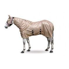 Fly Rug With Mask Color Champagne