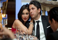Lisa Ray, actor and host of 'Top Chef' Canada, with fiancé Jason Dehni. Photo:www.michaeltoolan.com.