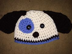 Puppy crochet hat you choose size and colors by madicyn09lee, $16.00