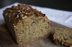 Cukinový zdravý chlieb s chia - Recepty Bread Bar, Kitchenette, Love Cake, Sweet Bread, Sweet Recipes, Banana Bread, Sweet Tooth, Food And Drink, Sweets