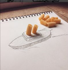 Awesome Instagram account: illustrations meet real world objects | Kristian Mensa