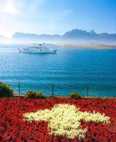 "452 Likes, 6 Comments - Best photos of Switzerland 🇨🇭 (@switzerland.bestpix) on Instagram: ""📍Oberhofen,Switzerland🇨🇭 📸Photo credit :@aziz_boussalem 👆🏼 Selected by : @christofs70 👉🏼 Please tag…"""
