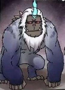 Macaco Armado de Braço Azul Rank prata