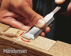 How to Use a Wood Chisel #woodworkingbench