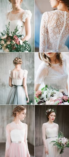 34 Heavenly Lace Wedding Dresses That Illustrate Fairy Tale Romance!