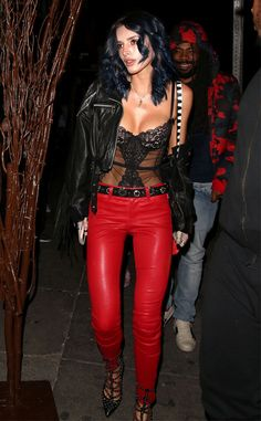 Bella Thorne from The Big Picture: Today's Hot Pics Leather bound! The actress attends a party in downtown L.A.
