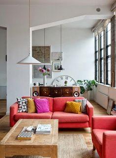 我們看到了。我們是生活@家。: 倫敦的寬敞loft公寓!The Modern House