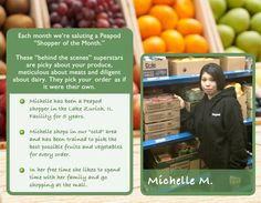 Congrats to Michelle, our July shopper of the month from our Lake Zurich, IL facility.