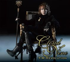 T.M.Revolution (Takanori Nishikawa) Dressed very fancy-like.