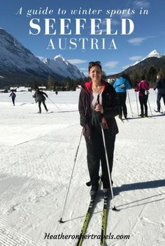 Read about all the winter sports on offer in Seefeld, Austria - with cross-country ski, winter hiking and more, there's a lot more to do than downhill ski Europe Travel Guide, Travel Guides, Traveling Europe, Travel Info, Ski Hire, Austria Winter, Ski Packages, Austria Travel, Ski Austria