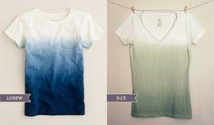 how to: dip dye make-do-learn