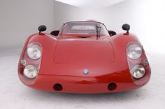 1968 Alfa Romeo Tipo 33-2 Le Mans Long Tail Coupe 2